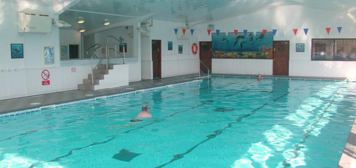 The Moorland Pool at the Manor