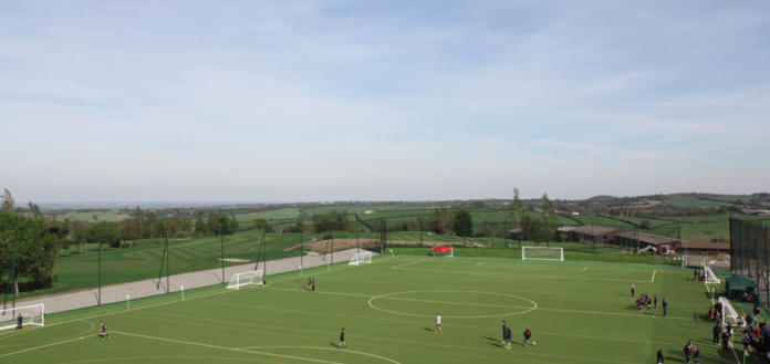NEW Sports Pitch at Ashbury